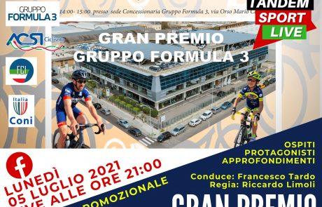 1° GRAN PREMIO TROFEO FORMULA 3 – domenica 11 luglio –