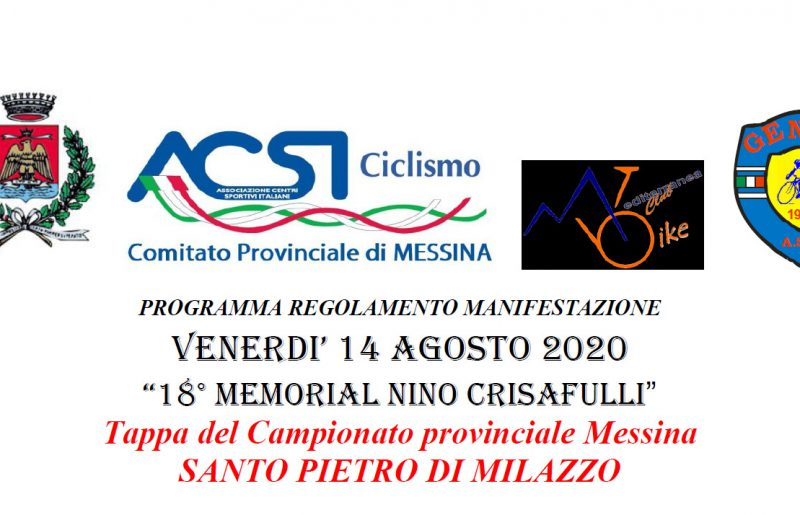 18° Memorial Nino Crisafulli